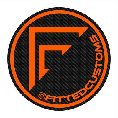 Fitted Customs Logo
